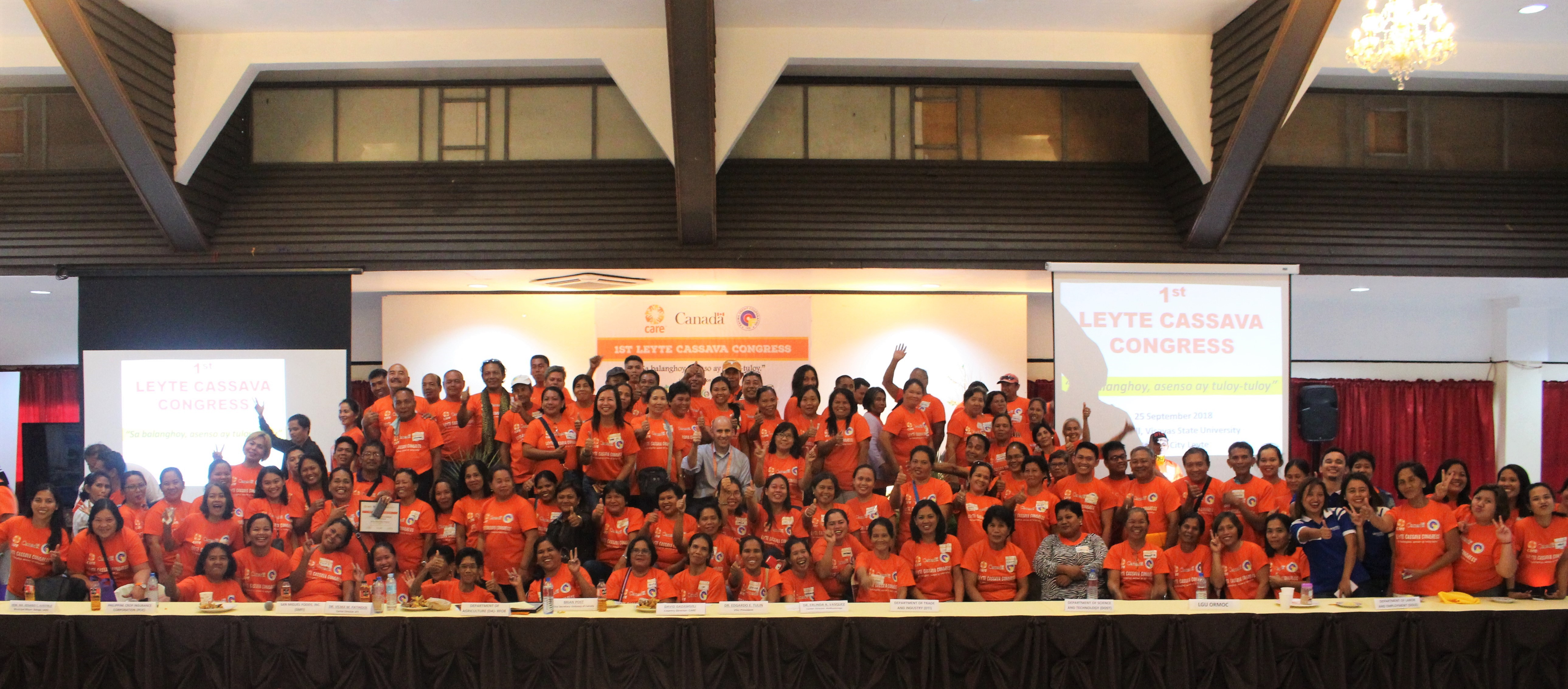 CARE hosts 1st Leyte Cassava Congress, gathers more support for farmers