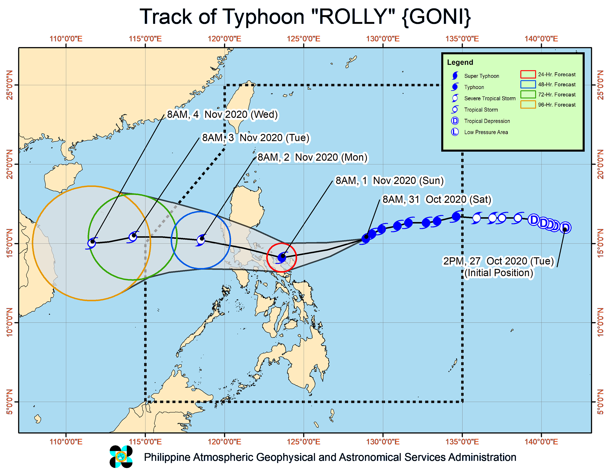 CARE and Partners Prepare For 2020's Strongest Typhoon Moving Towards The Philippines, Ready To Respond